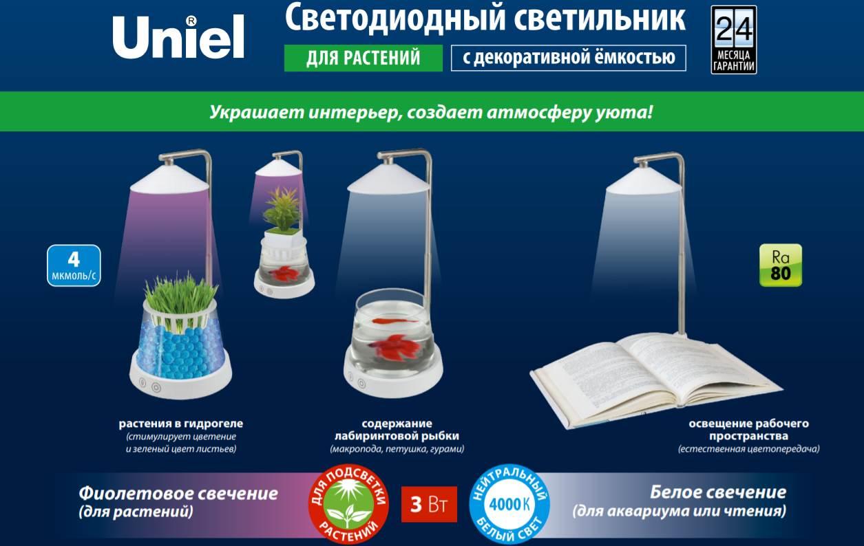 Светильник для растений