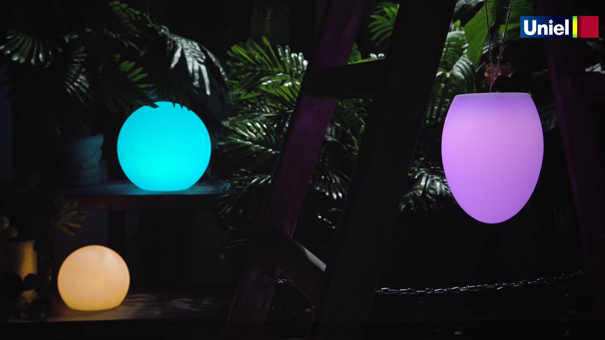 Декоративные аккумуляторные светодиодные светильники Uniel ULG-R