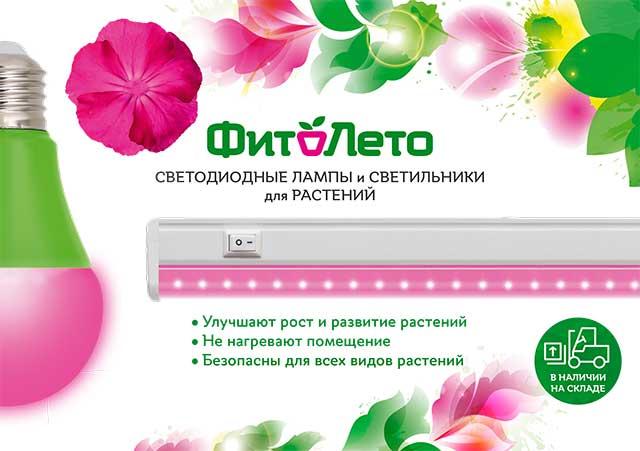 «ФитоЛето» - свет для ваших растений