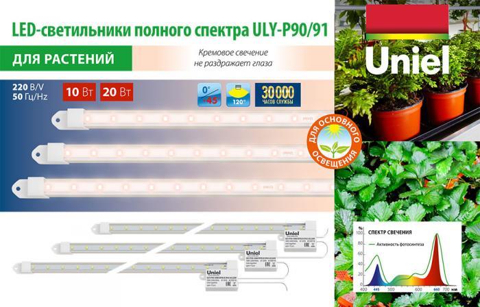 Новые светильники для растений