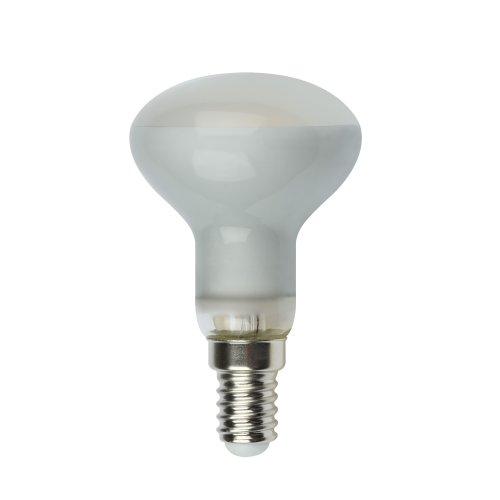 LED-R50-6W-NW-E14-FR PLS02WH Лампа светодиодная. Форма Рефлектор. матовая. Серия Sky. Белый свет. Картон. ТМ Uniel.