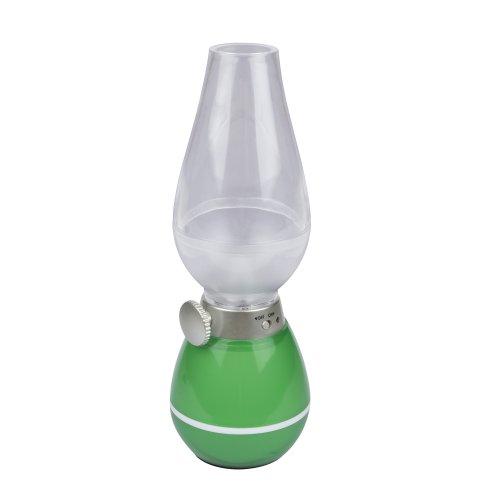 TLD-538 Green-LED-80Lm-5500K-Dimmer Светильник настольный РЕТРО. 3W. Встроенный аккумулятор 400mAh. Зеленый. TM Uniel.