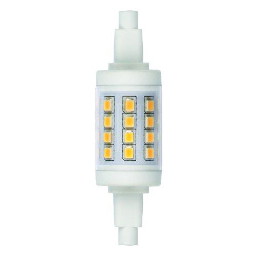 LED-J78-6W-WW-R7s-CL PLZ06WH Лампа светодиодная. Прозрачная. Теплый белый свет. Картон. ТМ Uniel.