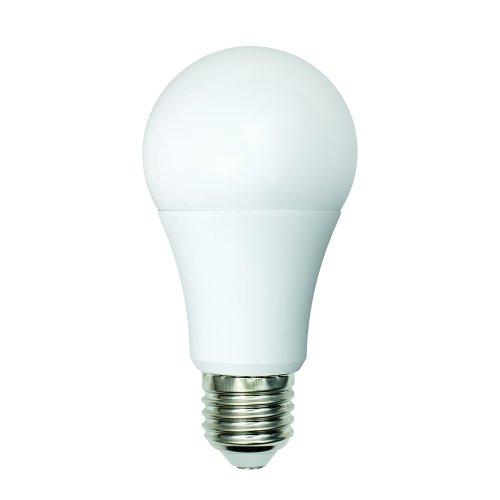 LED-A60-9W-WW+NW-E27-FR PLB01WH Лампа светодиодная. Форма А. матовая. Серия Bicolor. Теплый белый свет Белый свет. Картон. ТМ Uniel.