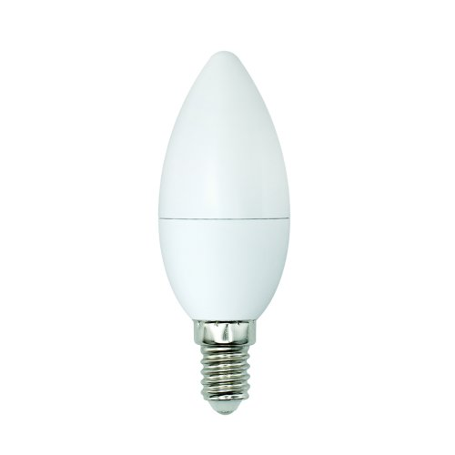 LED-C37-6W-WW+NW-E14-FR PLB01WH Лампа светодиодная. Форма свеча. матовая. Серия Bicolor. Теплый белый свет Белый свет. Картон. ТМ Uniel.