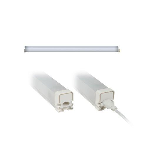 ULO-BL60-9W-NW-K IP54 WHITE Светильник светодиодный накладной. с коннектором. Белый свет. Корпус белый. ТМ Uniel.