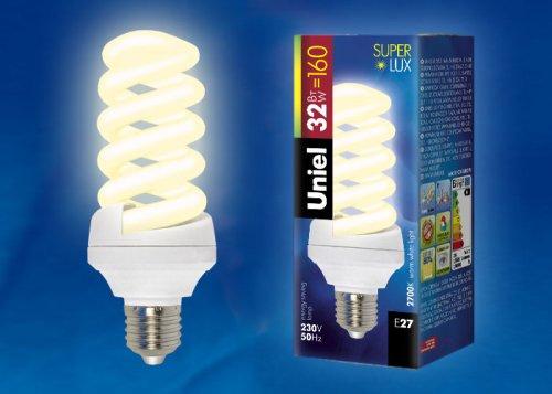 ESL-S12-32-2700-E27 Лампа энергосберегающая. Картонная упаковка