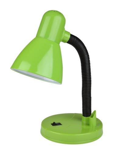 TLI-226 GREEN E27 Светильник настольный. Цоколь Е27. Механический выключатель. Зеленый. ТМ Uniel.