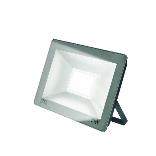 ULF-F15-30W-NW IP65 185-240В SILVER Прожектор светодиодный. Белый свет 4000K. Корпус серебристый. TM Uniel.