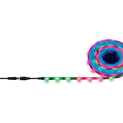 ULS-F20-5050-30LED-m-10mm-IP65-DC12V-7.2W-m-5M-RGB SMART Гибкая светодиодная лента на самоклеящейся основе. Катушка 5 м. в герметичной упаковке. RGB свет. Бегущий огoнь. ТМ Uniel.