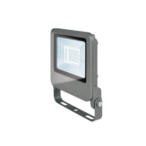 ULF-F17-20W-DW IP65 195-240В SILVER Прожектор светодиодный. Дневной свет 6500K. Корпус серебристый. TM Uniel.