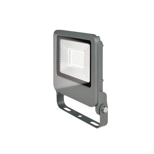 ULF-F17-20W-NW IP65 195-240В SILVER Прожектор светодиодный. Белый свет 4000K. Корпус серебристый. TM Uniel.