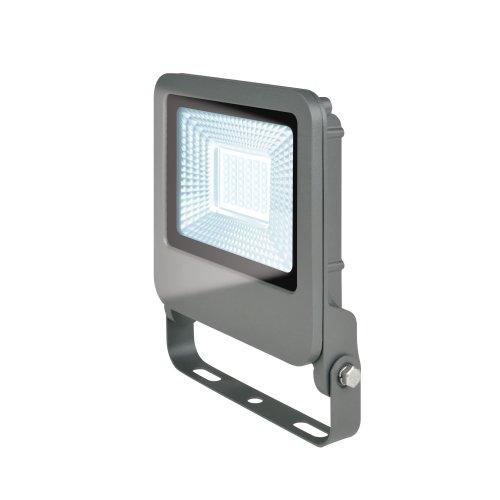 ULF-F17-30W-DW IP65 195-240В SILVER Прожектор светодиодный. Дневной свет 6500K. Корпус серебристый. TM Uniel.