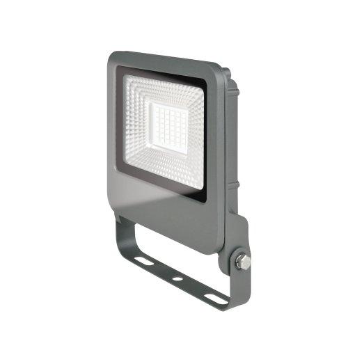 ULF-F17-30W-NW IP65 195-240В SILVER Прожектор светодиодный. Белый свет 4000K. Корпус серебристый. TM Uniel.