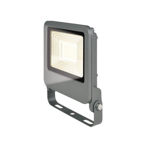 ULF-F17-30W-WW IP65 195-240В SILVER Прожектор светодиодный. Теплый белый свет 3000K. Корпус серебристый. TM Uniel.