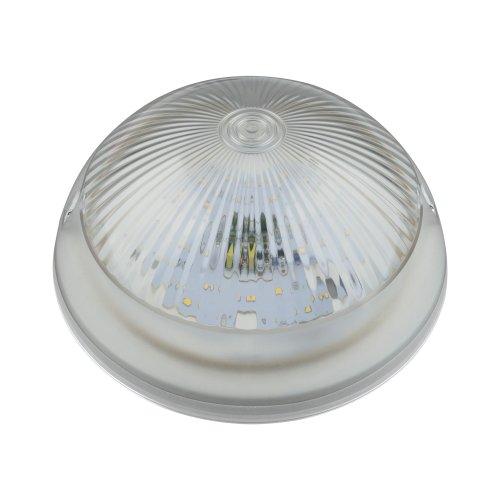 ULW-R05 12W-NW IP64 WHITE Светильник светодиодный влагозащищенный. Круг. 12Вт. 1200 Лм. Белый свет 4500K. 220В. Диаметр 21 см. Белый. ТМ Uniel