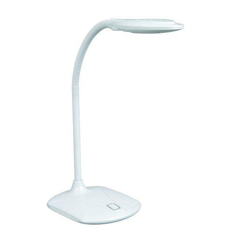 TLD-543 White-LED-350Lm-4500K Светильник настольный. 5W. Механический выключатель. Белый. ТМ Uniel