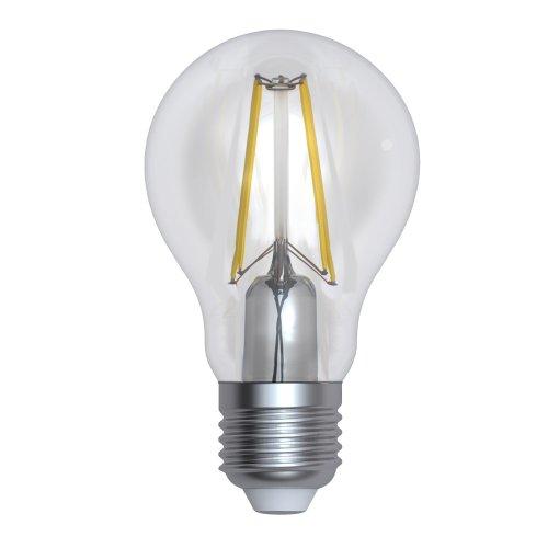 LED-A60-10W-3000K-E27-CL-DIM GLA01TR Лампа светодиодная диммируемая. Форма А. прозрачная. Серия Air. Теплый белый свет 3000K. Картон. ТМ Uniel.