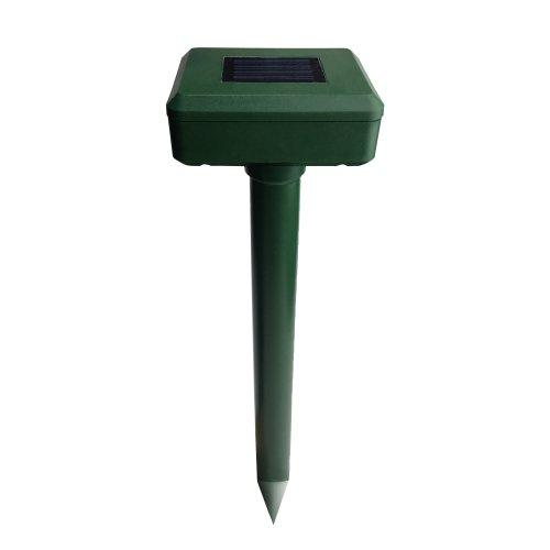 UDR-S50 SOL GREEN Устройство для отпугивания кротов и змей. на солнечной батарее. Изменяющаяся частота вибрации. Аккумулятор в-к.  IP44. Зеленый. TM Uniel.