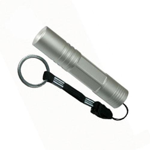 S-LD014-C Silver Фонарь Uniel серии Стандарт Classics element +. алюминиевый корпус. 0.5 Watt Led. упаковка кламшелл. 1хАА н-к. цвет серебро