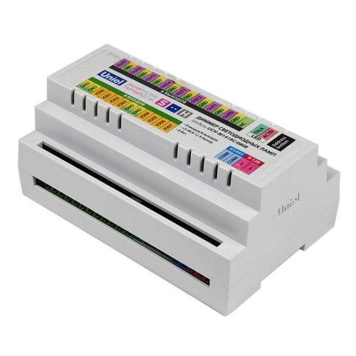 UCH-M141RC-0808 Диммер светодиодных ламп. RS485 порт. возможно управление контроллером. 8 входов- 8 выходов