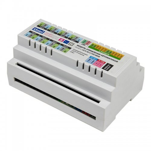 UCH-M121RX-0808 Модуль управления автоматикой. RS485 порт. 8 входов- 8 выходов