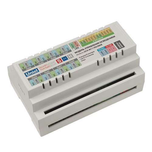 UCH-M111RX-0808 Модуль управления освещением. RS485 порт. 8 входов- 8 выходов