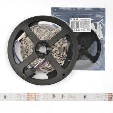 ULS-Q911 5050-30LED-m-8mm-IP20-DC12V-7.2W-m-3M-RGB Гибкая светодиодная лента на самоклеящейся основе. Катушка 5 м. в герметичной упаковке. Мультиколор. ТМ Volpe.