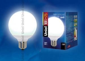 ESL-G80-15-4000-E27 Лампа энергосберегающая. Картонная упаковка