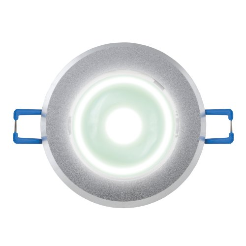 ULM-R31-3W-NW IP20 Sand Silver картон Светильник светодиодный встраиваемый поворотный. 110-240В. Материал корпуса алюминий. цвет матовое серебро. Белый свет.