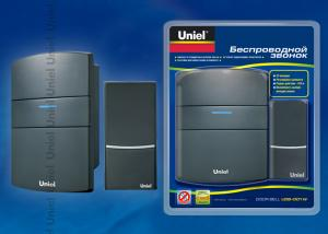 UDB-001W-R1T1-32S-100M-BL Звонок беспроводной. Блистерная упаковка