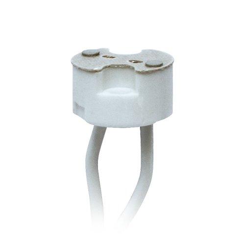 ULH-GU4-GU5.3-Ceramic-15cm Патрон керамический для лампы на цоколе GU4-GU5.3