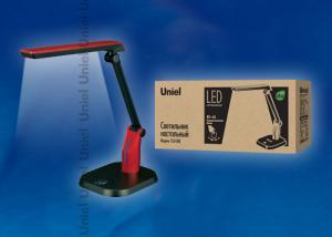 TLD-502 Red-Светильник настольный LED-546Lm-5000K-С димером-Цвет-красный