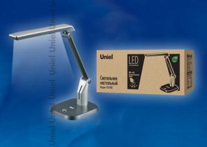 TLD-502 Silver-Светильник настольный LED-546Lm-5000K-С димером-Цвет-серебристый