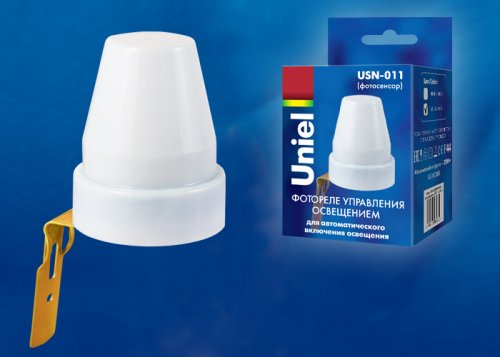USN-011-2200W-02-100LUX-WH Сенсор освещенности фотосенсор. Картонная упаковка