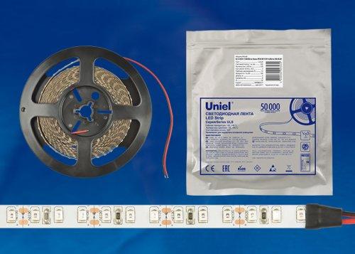 ULS-2835-120LED-m-8mm-IP65-DC12V-19.2W-m-5M-W Гибкая светодиодная герметичная лента на самоклеящейся основе. Катушка 5 м. в герметичной упаковке. Белый свет. ТМ Uniel.