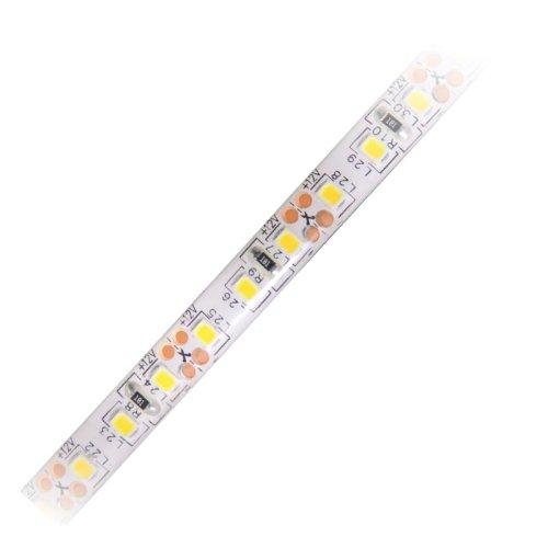 ULS-Q334 2835-120LED-m-8mm-IP65-DC12V-9.6W-m-5M-WW Гибкая светодиодная герметичная лента на самоклеящейся основе. Катушка 5 м. в герметичной упаковке. Теплый белый свет. ТМ Volpe