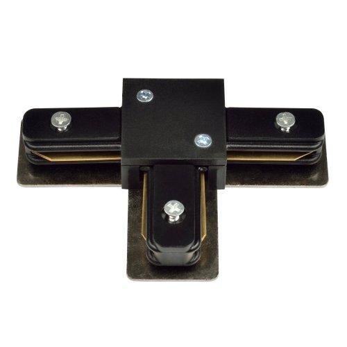 UBX-Q121 K31 BLACK 1 POLYBAG Соединитель для шинопроводов Т-образный Однофазный. Черный. ТМ Volpe.