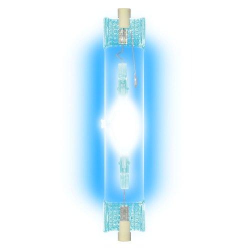 MH-DE-150-BLUE-R7s Лампа металогалогенная линейная. Цвет синий. Картонная упаковка