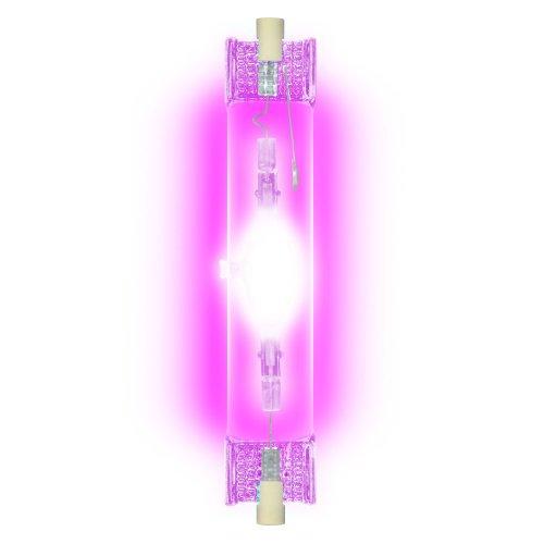 MH-DE-150-PURPLE-R7s Лампа металогалогенная линейная. Цвет пурпурный. Картонная упаковка