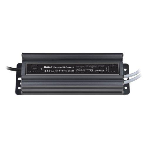 UET-VAL-150A67 Блок питания для светодиодов с защитой от короткого замыкания и перегрузок. алюминиевый корпус. 150Вт. 12В. IP67. 2 выходных канала