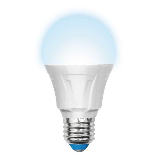 LED-A60-11W-NW-E27-FR-DIM PLP01WH Лампа светодиодная диммируемая. Форма A. матовая. Серия Palazzo. Белый свет. Картон. ТМ Uniel.