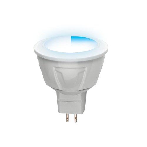 LED-JCDR-5W-NW-GU5.3-FR-DIM PLP01WH Лампа светодиодная диммируемая. Серия Palazzo. Белый свет. Картон. ТМ Uniel.