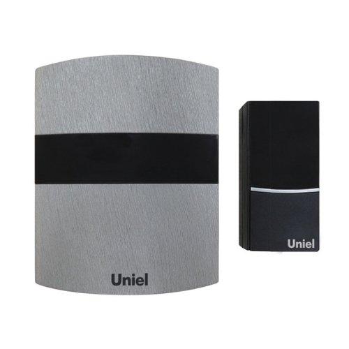 UDB-001W-R1T1-32S-100M-LS Звонок беспроводной. Блистерная упаковка. Цвет светлое серебро