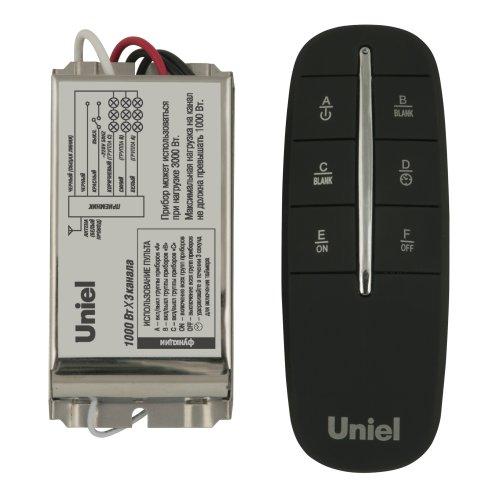 UCH-P002-G3-1000W-30M Пульт управления светом. три канала. Блистерная упаковка