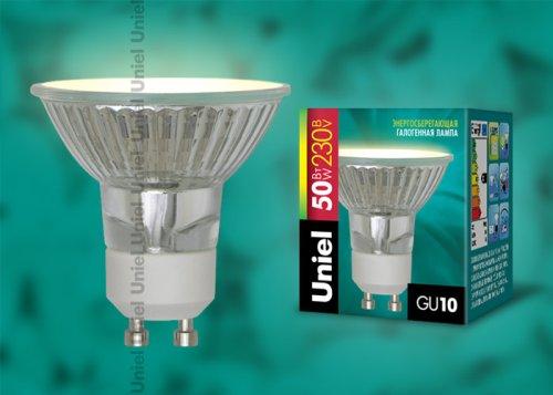 JCDR-X50-GU10 Лампа галогенная Картонная упаковка