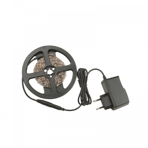 ULS-Q321 2835-60LED-m-IP20-2.5M-DW RRP24C00 Комплект светодиодной ленты 2.5м. IP20. Холодный белый свет. Адаптер 24Вт. TM Volpe.