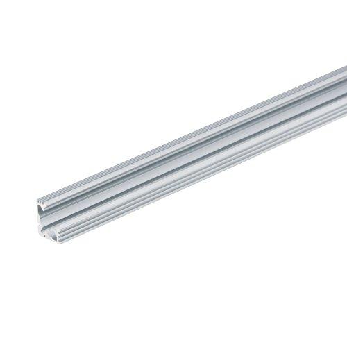 UFE-A04 SILVER 200 POLYBAG Накладной профиль для светодиодной ленты. анодированный алюминий. Длина 200 см. ТМ Uniel.