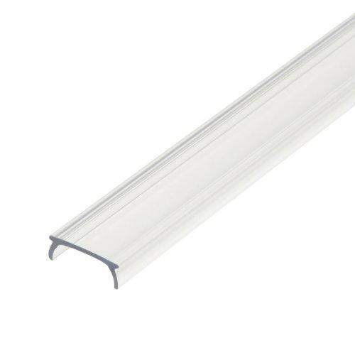 UFE-R01 CLEAR 200 POLYBAG Прозрачный рассеиватель для алюминиевого профиля. пластик. Длина 200 см. ТМ Uniel.