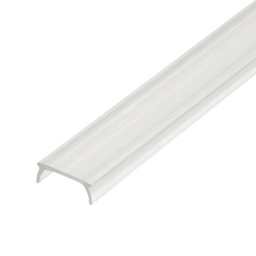 UFE-R02 CLEAR 200 POLYBAG Прозрачный рассеиватель для алюминиевого профиля. пластик. Длина 200 см. ТМ Uniel.